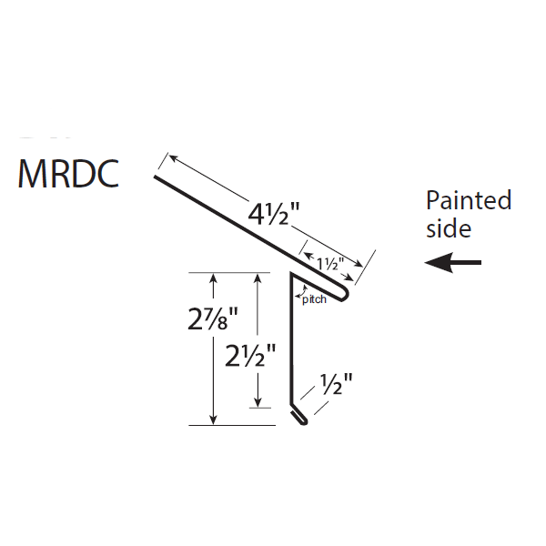U-Panel Drip Edge