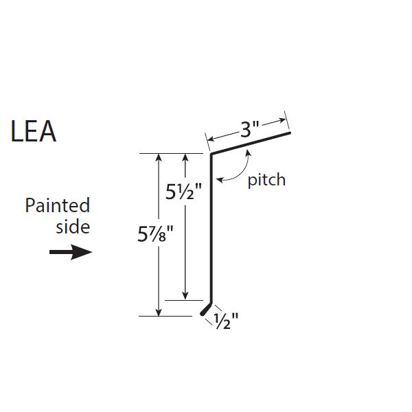 U-Panel Long Eave Trim