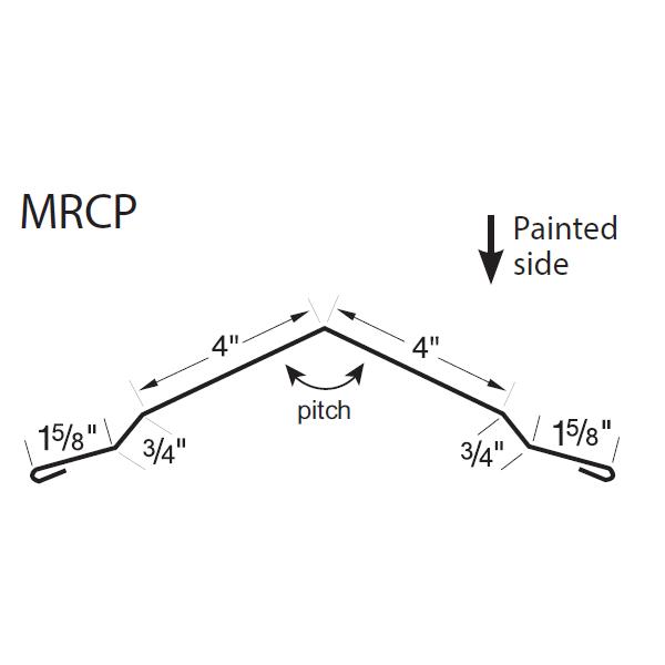 U-Panel M-Ridge Cap