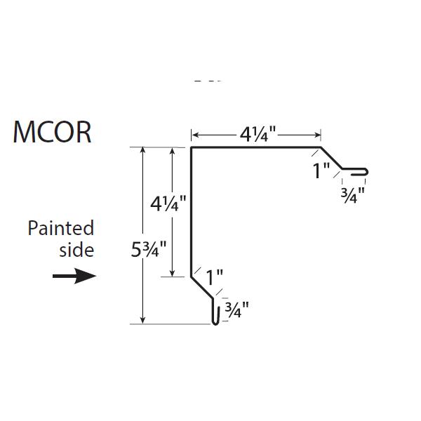 U-Panel Rake and Corner