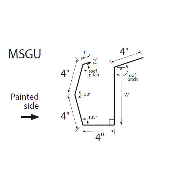 U-Panel Sculptured Eave