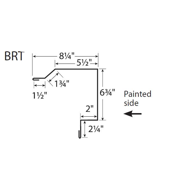 R-Panel Box Rake Trim