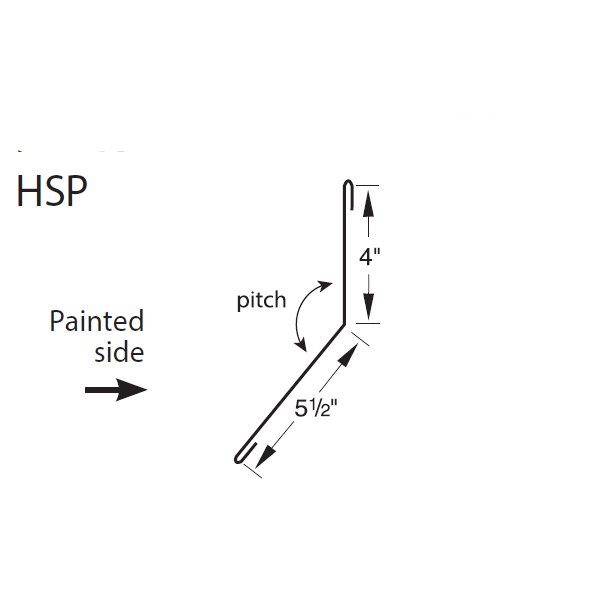 R-Panel High Side Parapet Trim