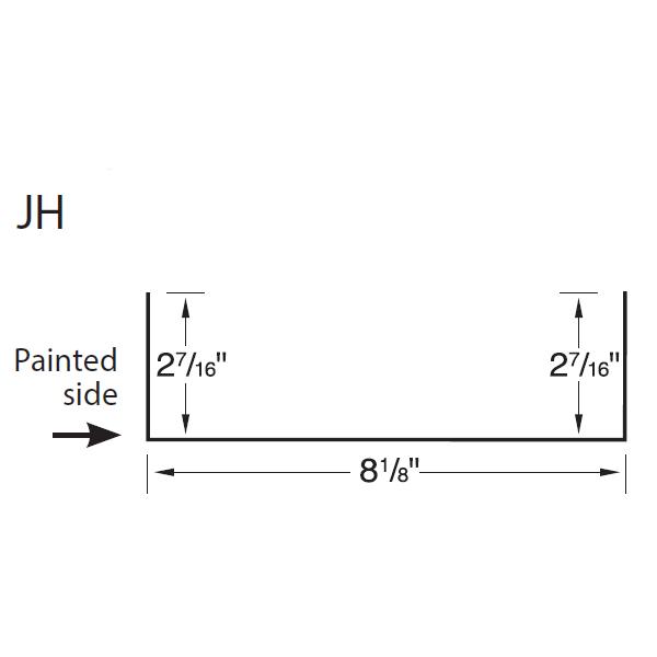 R-Panel Jamb Header