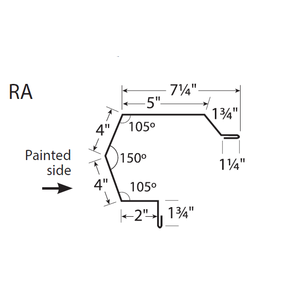 R-Panel Rake Trim