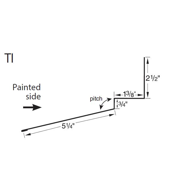 R-Panel Tie In Trim