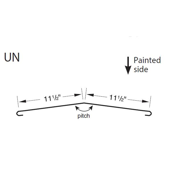 R-Panel Universal Ridge Cap