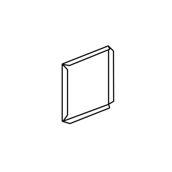 Box Gutter End Cap